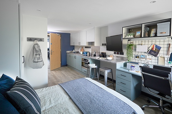 Inside Zenith Student Accommodation In Cardiff 3