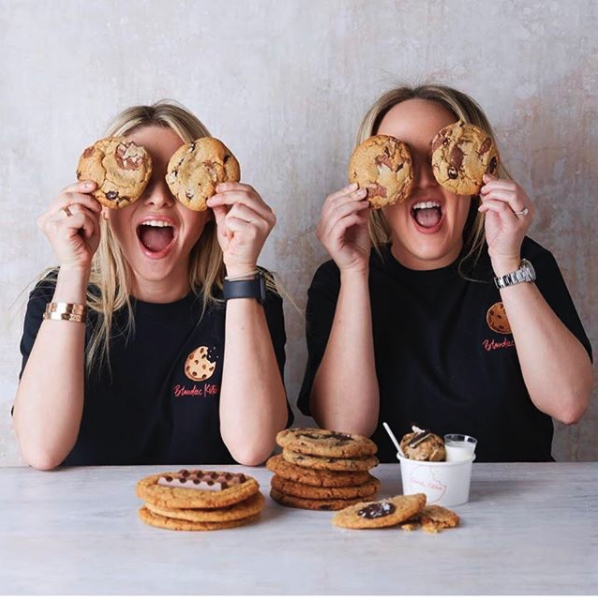 BLONDIE'S KITCHEN DUO ARE TWO SMART COOKIES