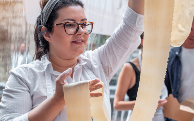 A CHAT WITH PASTA EVANGELISTS' CHEF
