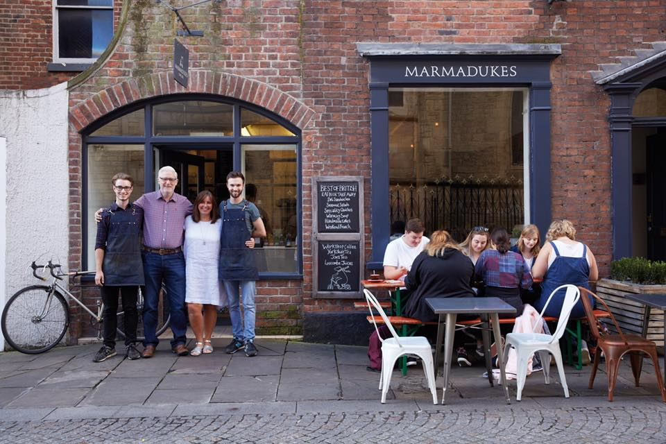 MEET THE OWNERS OF MARMADUKES CAFE