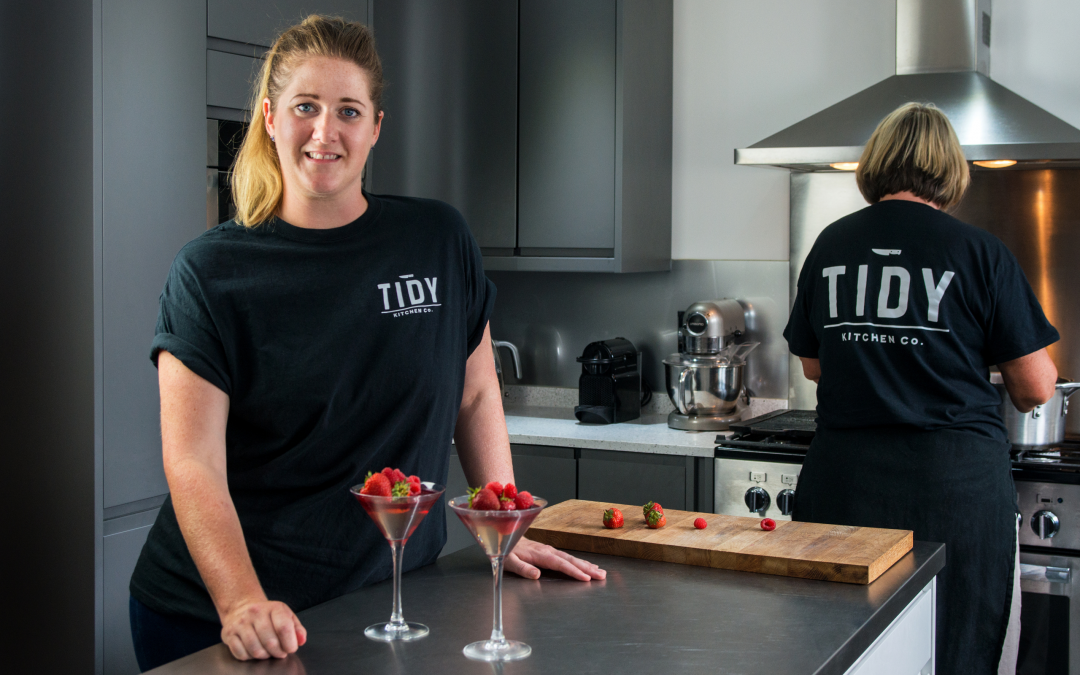 MEET THE OWNER OF THE TIDY KITCHEN CO.